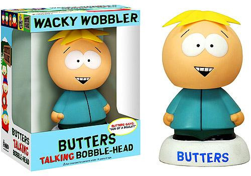 Funko South Park Wacky Wobbler Butters Talking Bobble Head