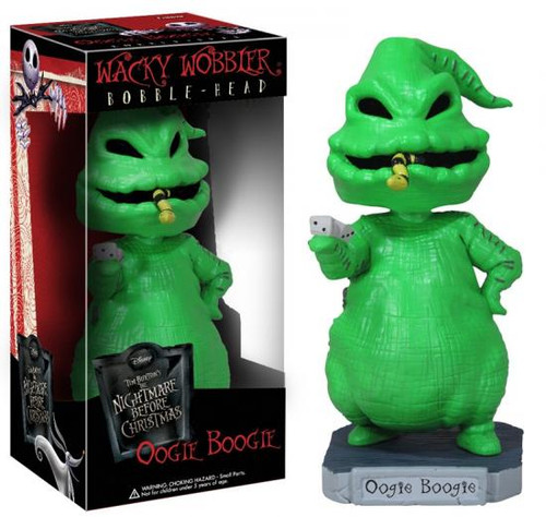 Funko The Nightmare Before Christmas Wacky Wobbler Oogie Boogie Bobble Head
