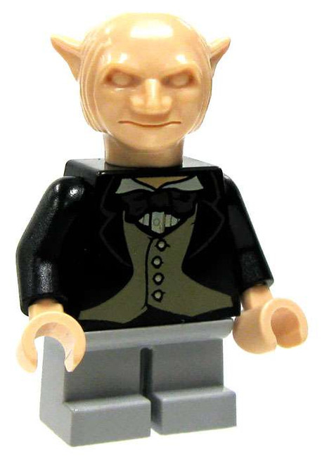 LEGO Harry Potter Loose Gringotts Goblin Minifigure [Black Jacket & Gray Trousers Loose]