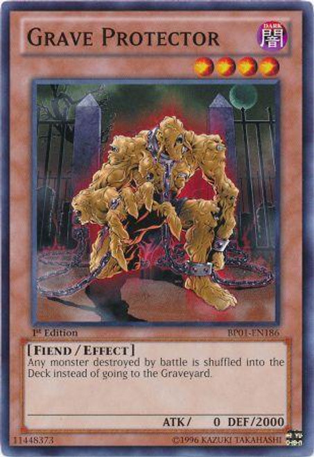 YuGiOh Battle Pack: Epic Dawn Common Grave Protector BP01-EN186