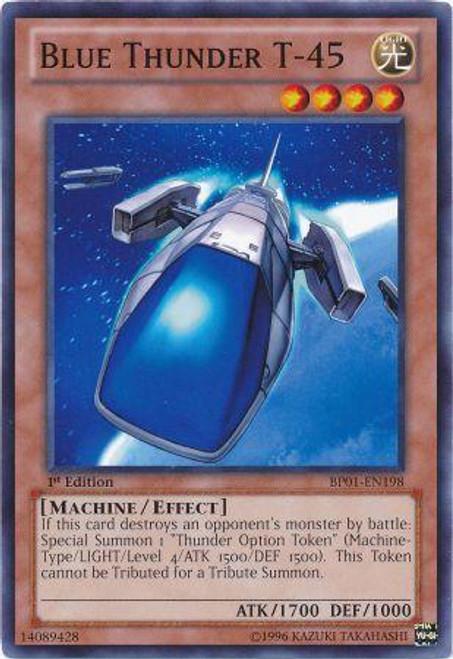 YuGiOh Battle Pack: Epic Dawn Common Blue Thunder T-45 BP01-EN198