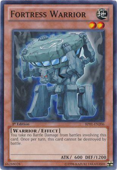 YuGiOh Battle Pack: Epic Dawn Common Fortress Warrior BP01-EN206