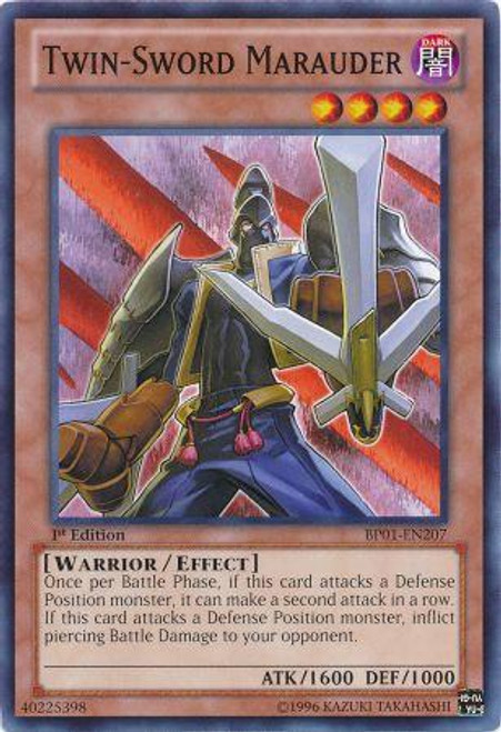 YuGiOh Battle Pack: Epic Dawn Common Twin-Sword Marauder BP01-EN207
