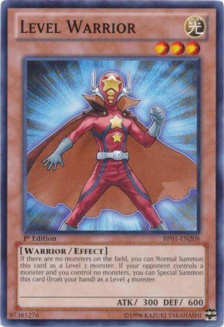YuGiOh Battle Pack: Epic Dawn Common Level Warrior BP01-EN208