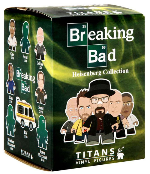 breaking bad titans collection the heisenberg collection. Black Bedroom Furniture Sets. Home Design Ideas