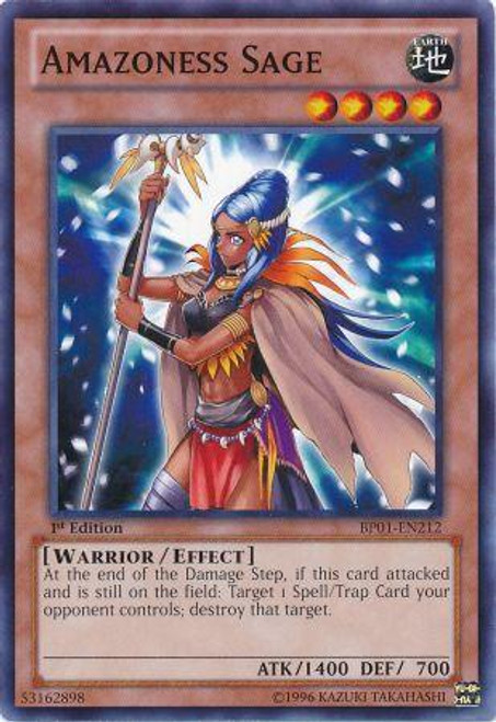 YuGiOh Battle Pack: Epic Dawn Common Amazoness Sage BP01-EN212