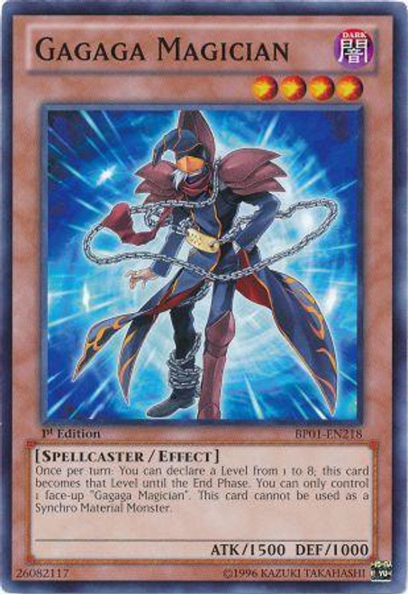YuGiOh Battle Pack: Epic Dawn Common Gagaga Magician BP01-EN218