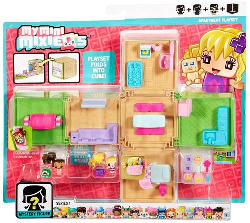 My Mini MixieQs Series 1 Apartment Playset Mattel Toys