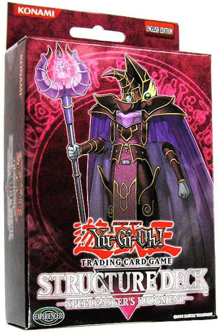 YuGiOh Structure Deck: Spellcaster's Judgment Spellcaster's Judgment Structure Deck [Unlimited Edition] [Sealed Deck]