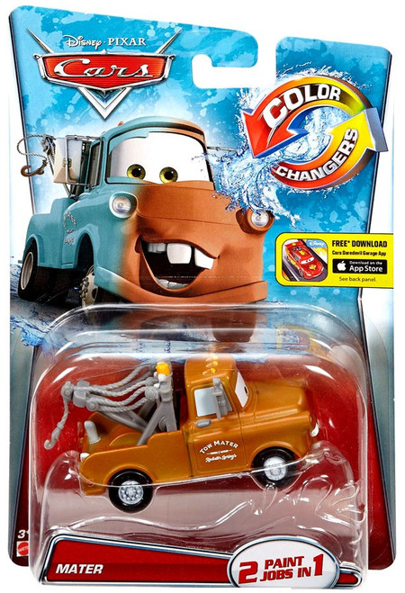 Car Toys Color : Disney cars color changers mater brown diecast car