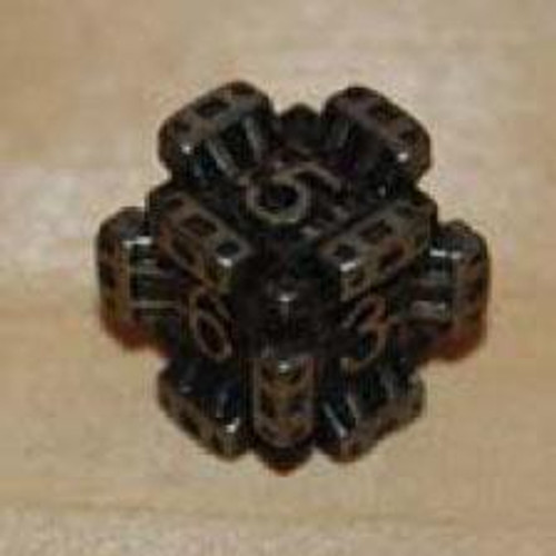 IronDie Black Fortress Common Single Die #20