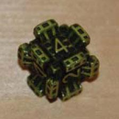 IronDie Green Fortress Common Single Die #38