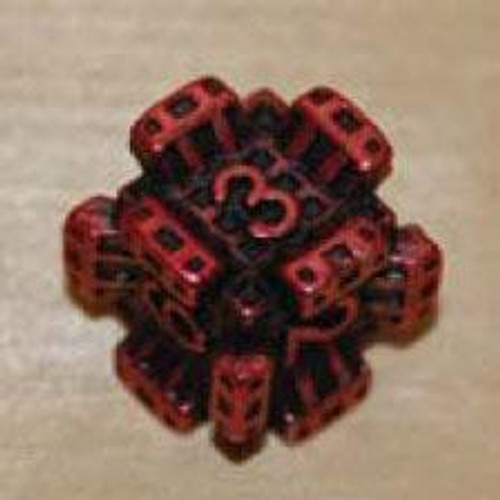 IronDie Red Fortress Common Single Die #65