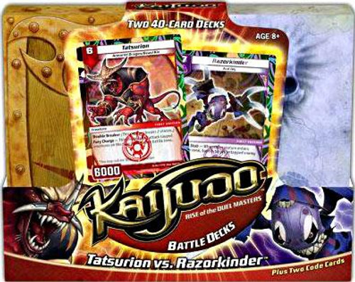 Kaijudo Tatsurion vs. Razorkinder Battle Decks