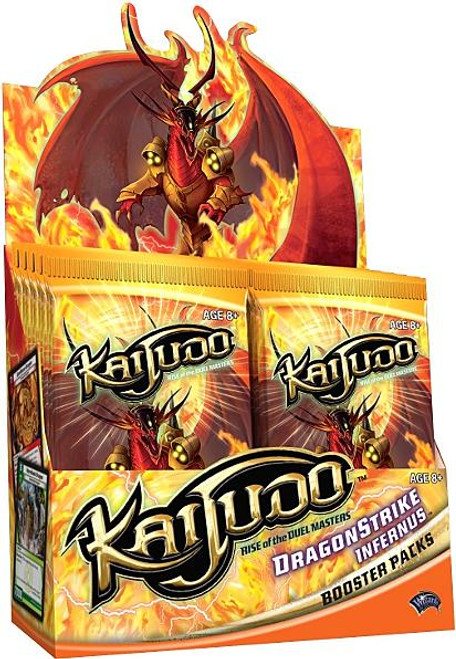 Kaijudo Rise of the Duel Masters Dragonstrike Infernus Booster Box