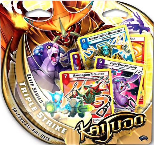 Kaijudo Rise of the Duel Masters Elite Series Triple Strike Foil Deck