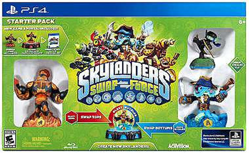 Skylanders PS4 Swap Force Starter Pack