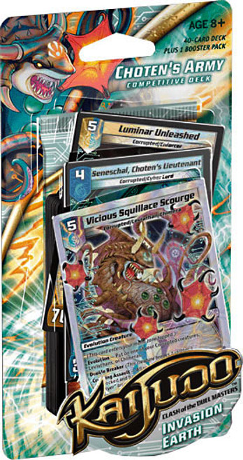 Kaijudo Clash of the Duel Masters Invasion Earth Choten's Army Competitive Deck