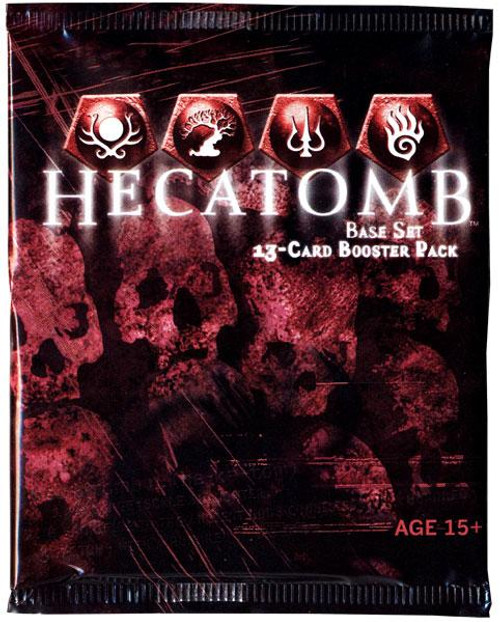 Hecatomb Trading Card Game Premiere Booster Pack