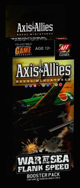 Axis & Allies Miniatures War at Sea: Flank Speed Booster Pack
