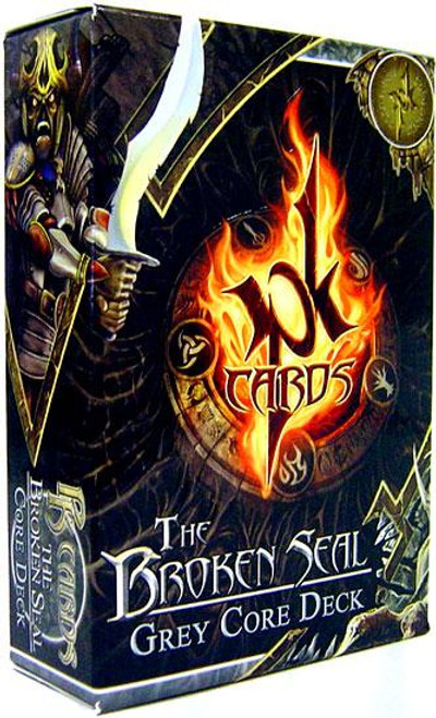 PK Cards The Broken Seal Gray Core Deck Starter Deck