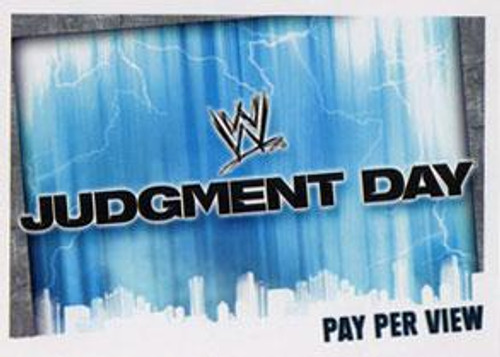 WWE Wrestling Slam Attax Evolution Series 1 Pay Per View Base Card Judgement Day