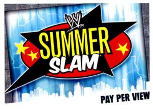 WWE Wrestling Slam Attax Evolution Series 1 Pay Per View Base Card Summerslam