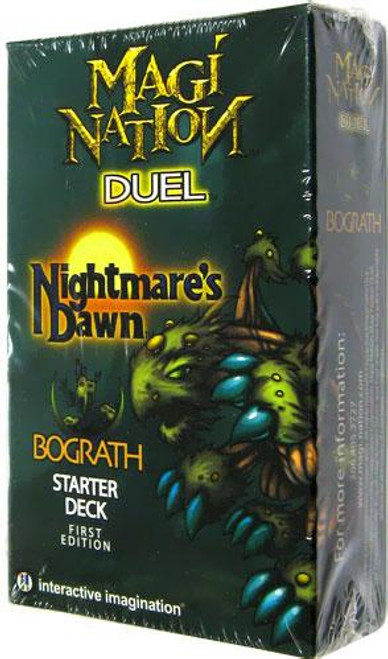 Magi Nation Duel Nightmare's Dawn Bograth Starter Deck