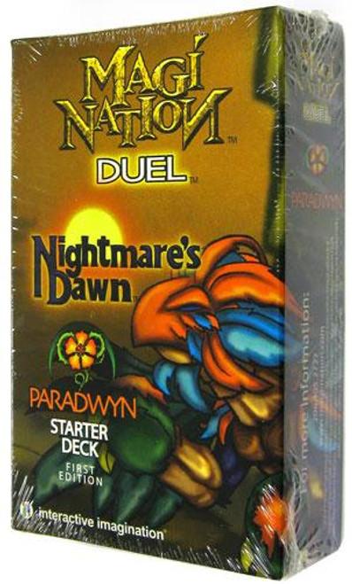 Magi Nation Duel Nightmare's Dawn Paradwyn Starter Deck