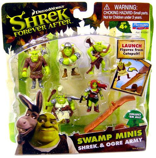 Forever After Swamp Minis Shrek & Ogre Army Mini Figure Set