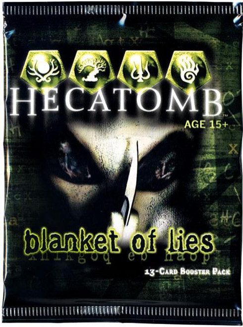 Hecatomb Trading Card Game Blanket of Lies Booster Pack