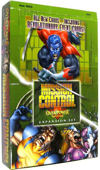 OverPower Card Game Base Set Marvel Mission Control Booster Box