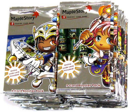 Maple Story Lot of 24 Base Premiere Booster Packs