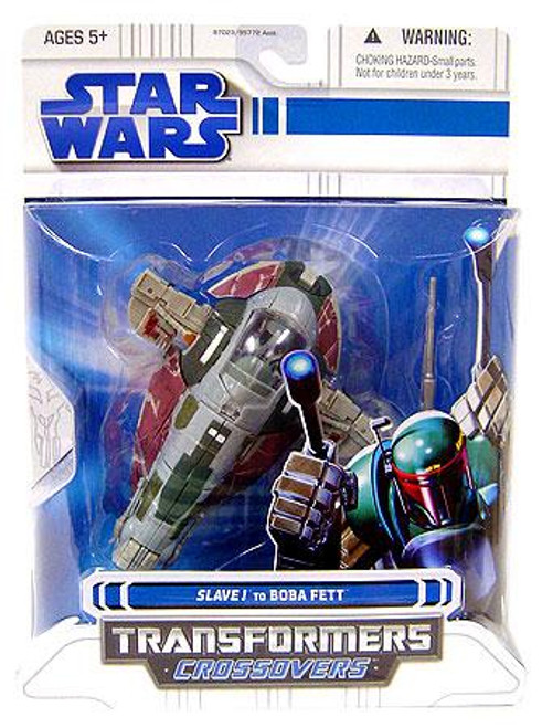 Star Wars The Empire Strikes Back Transformers Crossovers 2008 Slave 1 to Boba Fett Action Figure