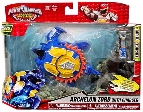 Power Rangers Dino Super Charge Archelon Zord 6 Action