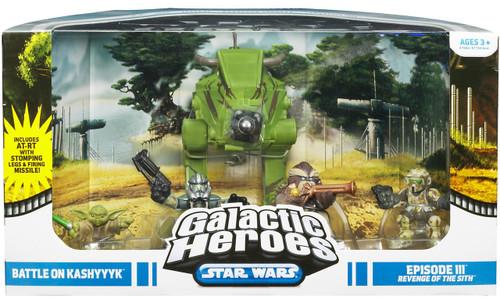 Star Wars Revenge of the Sith Galactic Heroes Cinema Scenes Battle on Kashyyyk Exclusive Mini Figure Set
