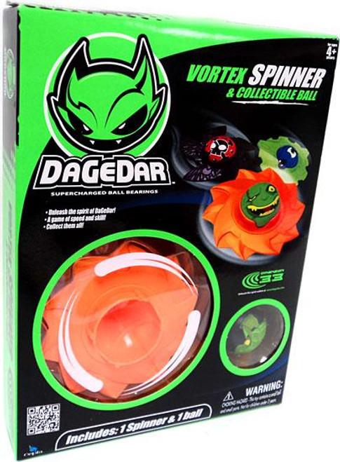 DaGeDar Vortex Spinner & Collectible Ball Set [Orange]