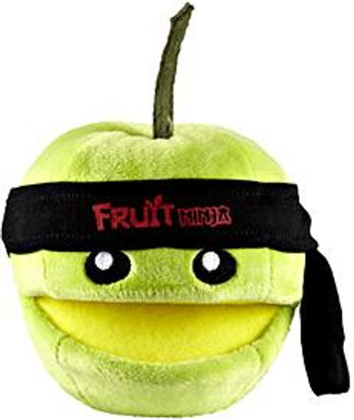 Fruit Ninja Green Apple 5-Inch Plush