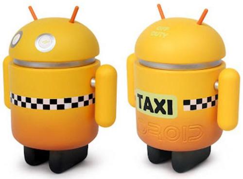 Android Big Box Edition Taxi 3-Inch Mini Figure