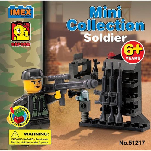 IMEX Cobra Forces Mini Collection Soldier Minifigure #51217