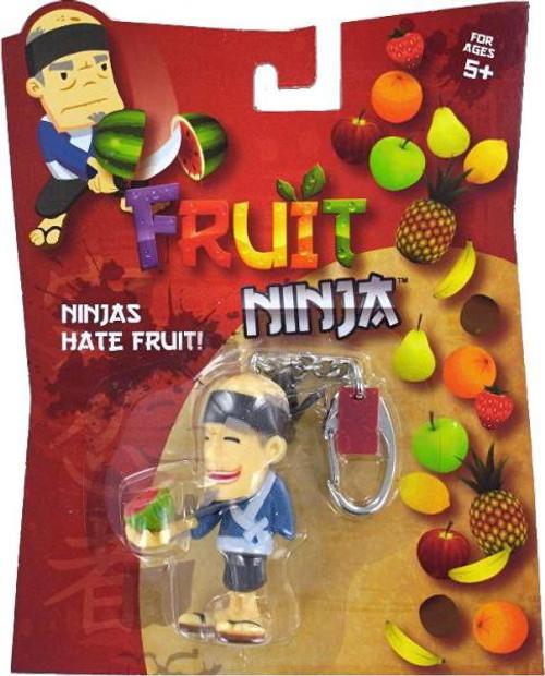 Fruit Ninja Blade Slice Watermelon Sensei Keychain