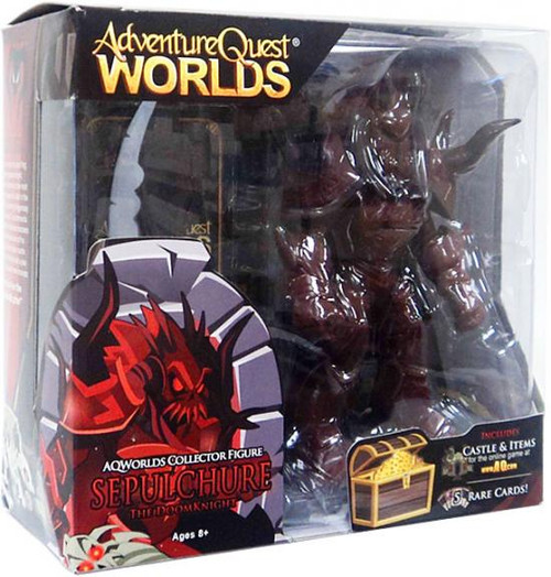 Adventure Quest Worlds Sepulchure The Doom Knight Exclusive Action Figure