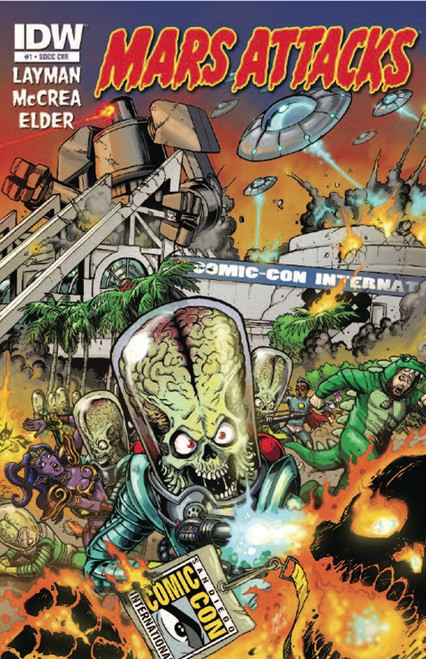Mars Attacks Exclusive Comic Book #1 [SDCC Exclusive]