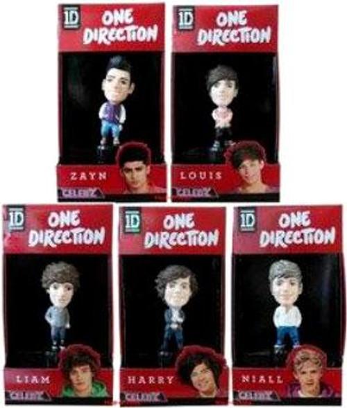 One Direction 1D Set of 5 Vinyl Figures