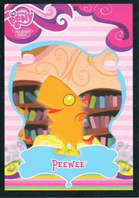 My Little Pony Trading Cards Friendship is Magic Common Peewee #44