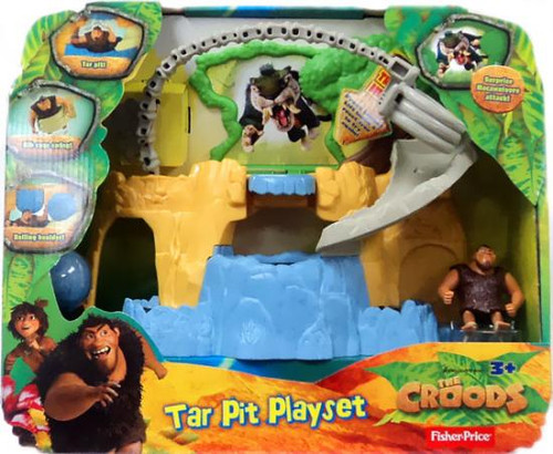 Fisher Price The Croods Tar Pit Playset