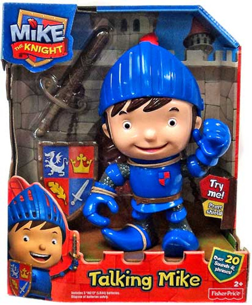 Fisher Price Mike the Knight Talking Mike Figure