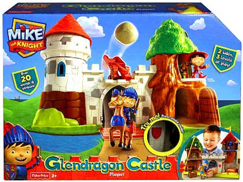 Fisher Price Mike the Knight Glendragon Castle Playset