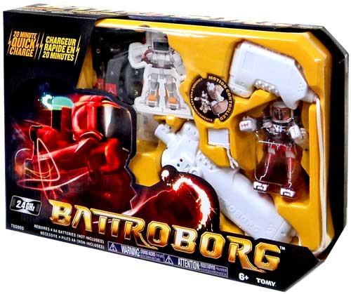 Battroborg Red / White R/C Figure