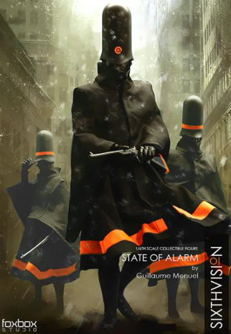 God Complex State of Alarm 1/6 Collectible Figure